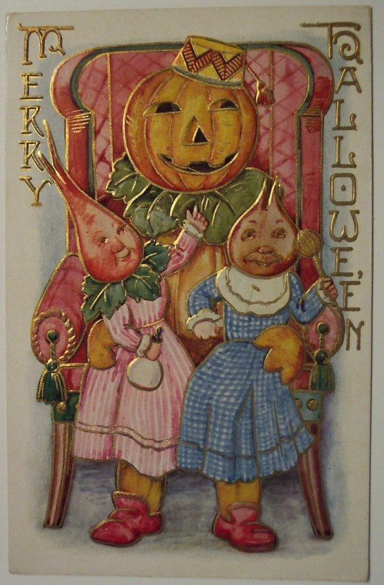 Ilustraciones vintage Halloween 075