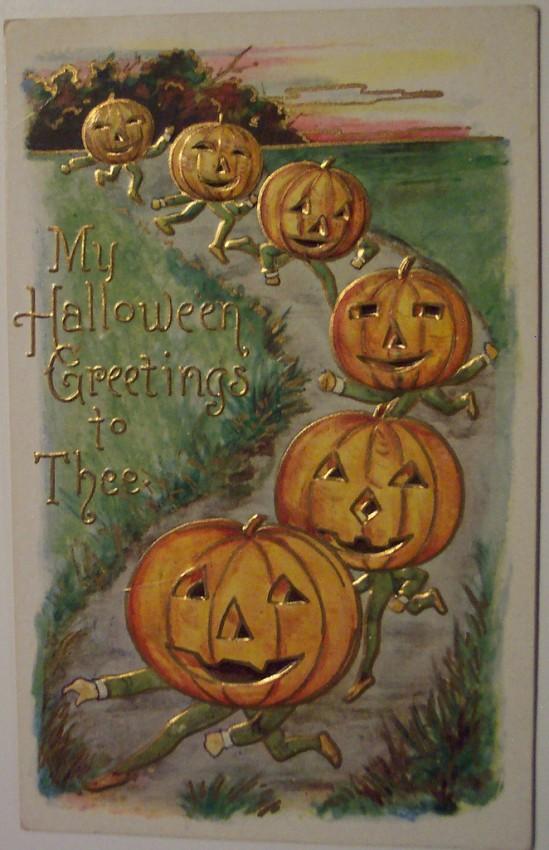 Ilustraciones vintage Halloween 077