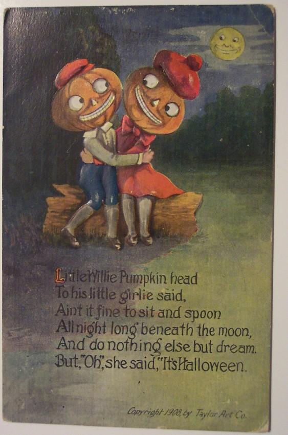 Ilustraciones vintage Halloween 080