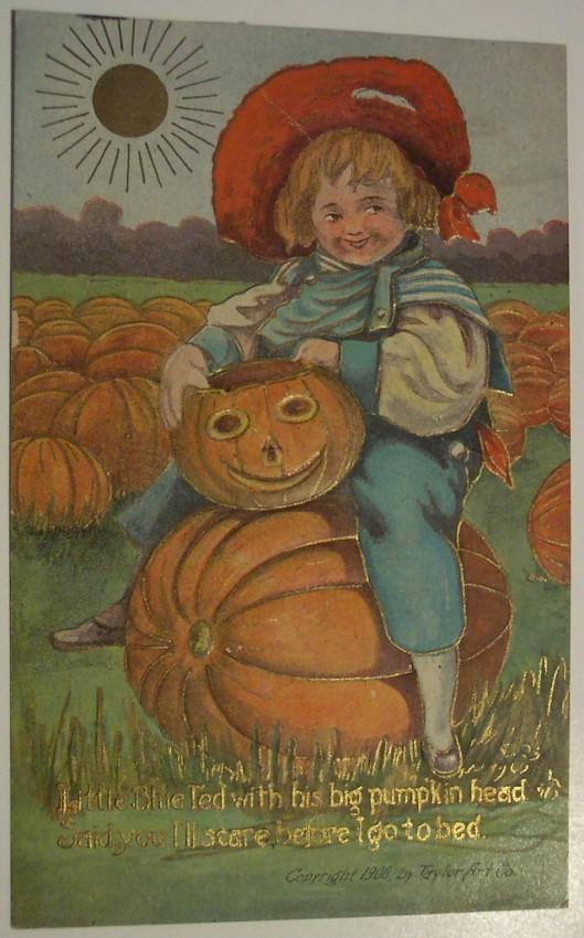 Ilustraciones vintage Halloween 081