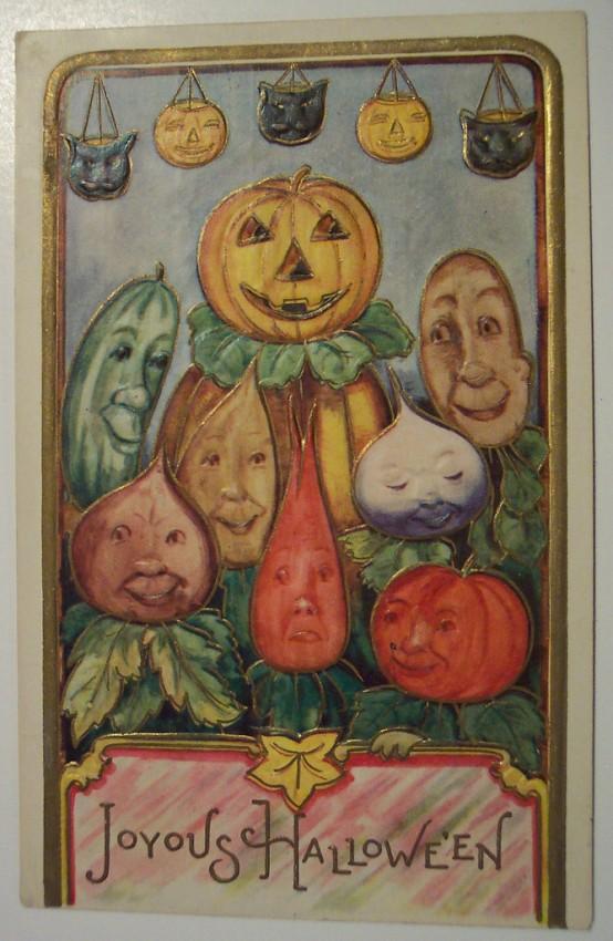 Ilustraciones vintage Halloween 082