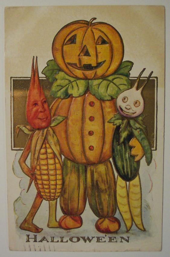 Ilustraciones vintage Halloween 083