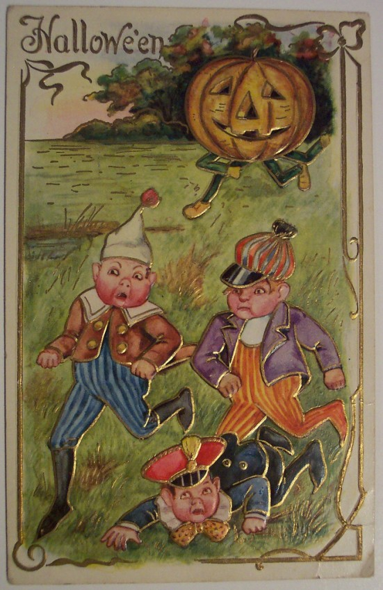 Ilustraciones vintage Halloween 084