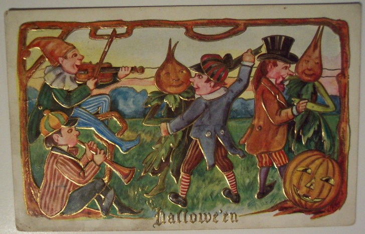 Ilustraciones vintage Halloween 085