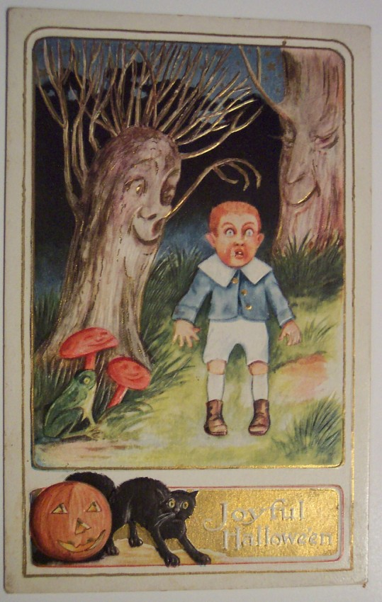 Ilustraciones vintage Halloween 086