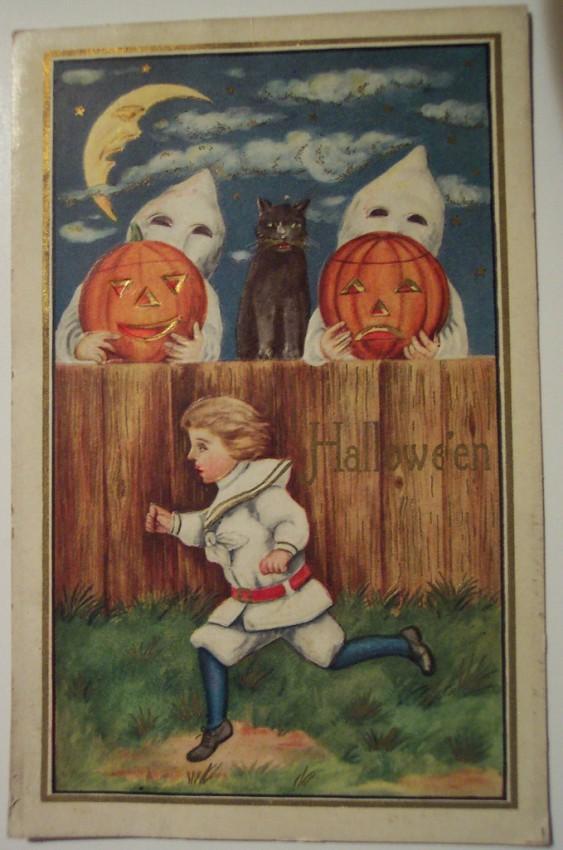 Ilustraciones vintage Halloween 088