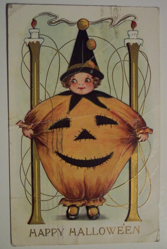 Ilustraciones vintage Halloween 090