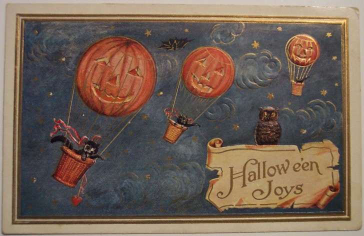 Ilustraciones vintage Halloween 091