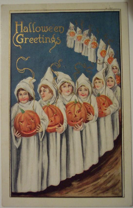 Ilustraciones vintage Halloween 092