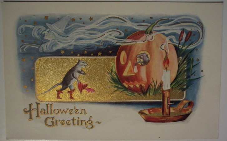 Ilustraciones vintage Halloween 093