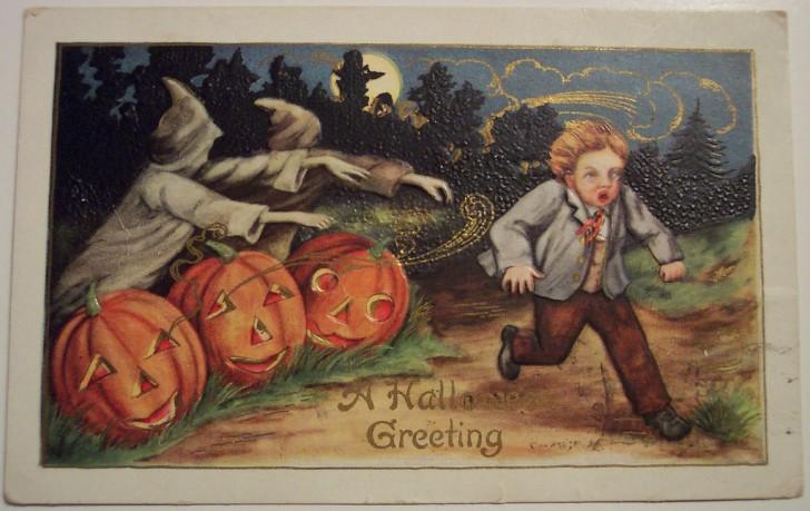 Ilustraciones vintage Halloween 094