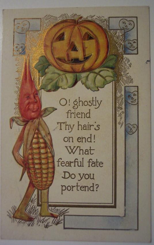 Ilustraciones vintage Halloween 096
