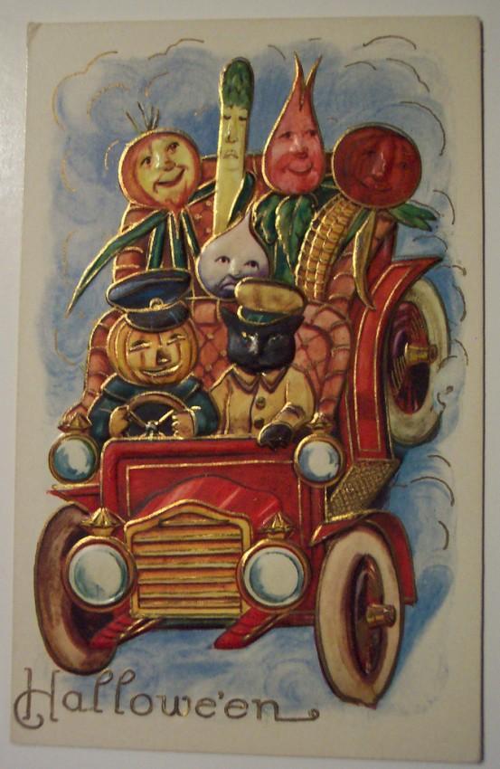 Ilustraciones vintage Halloween 098
