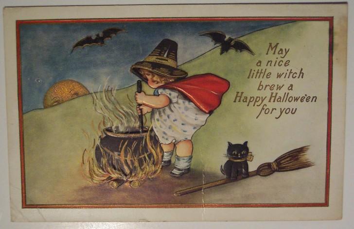 Ilustraciones vintage Halloween 100