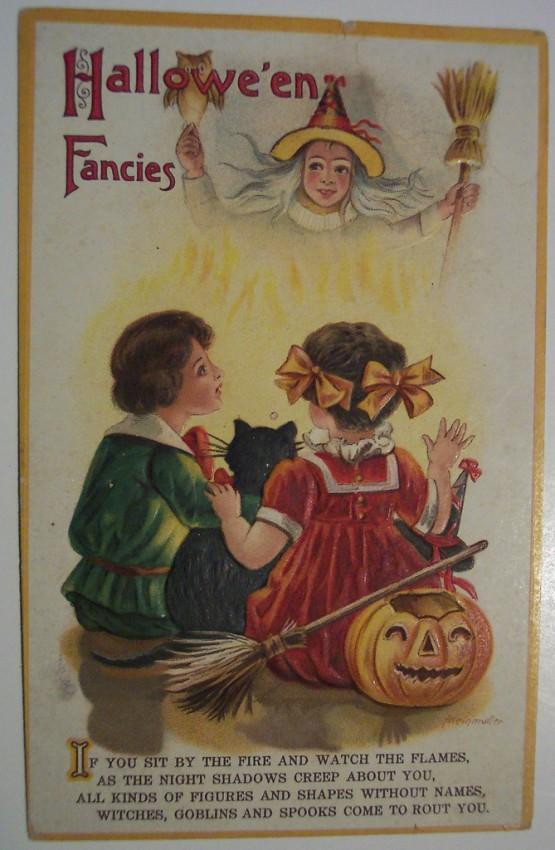 Ilustraciones vintage Halloween 102