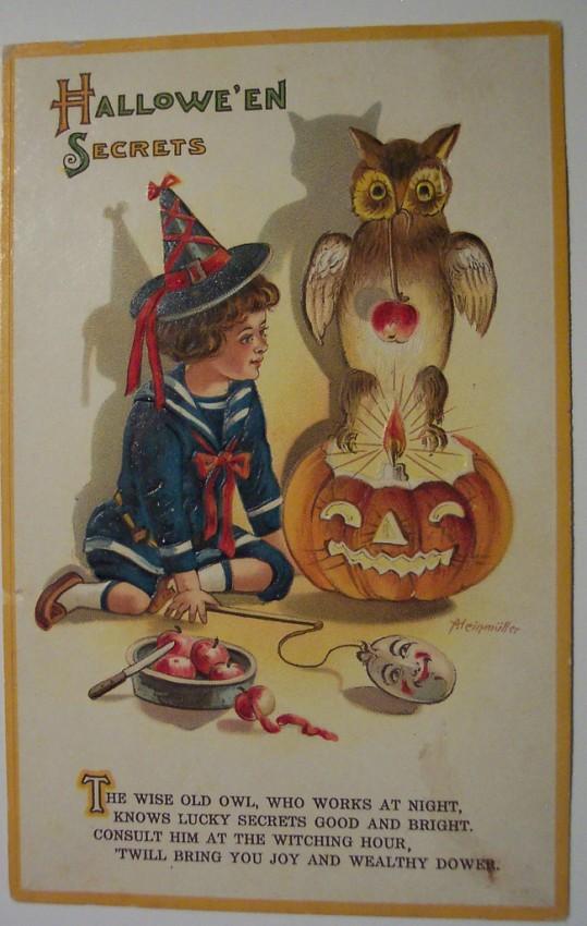 Ilustraciones vintage Halloween 104