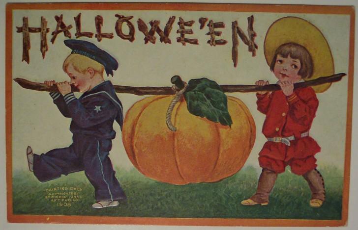 Ilustraciones vintage Halloween 105