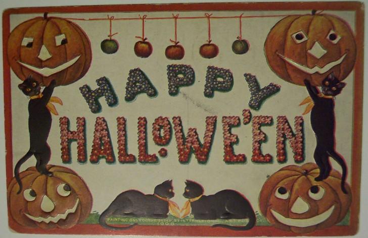 Ilustraciones vintage Halloween 106
