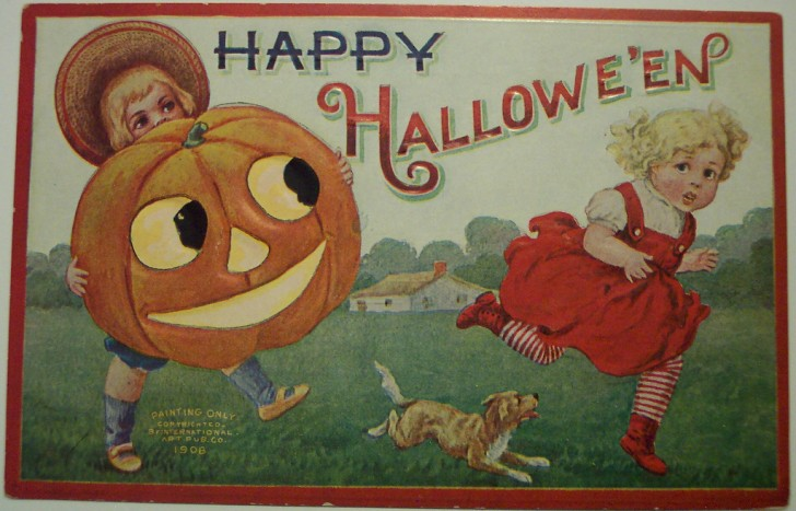 Ilustraciones vintage Halloween 107