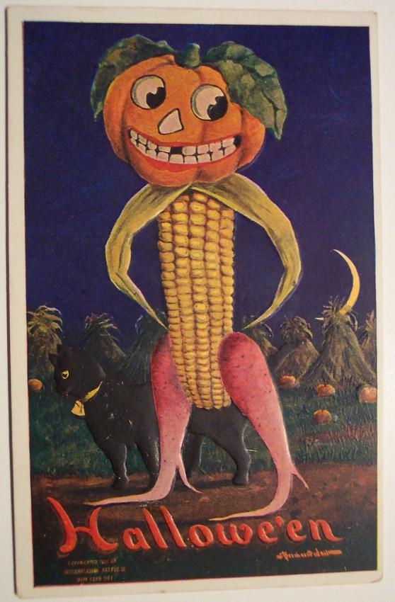 Ilustraciones vintage Halloween 109