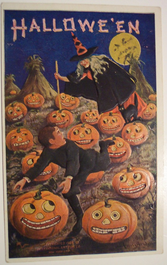 Ilustraciones vintage Halloween 110