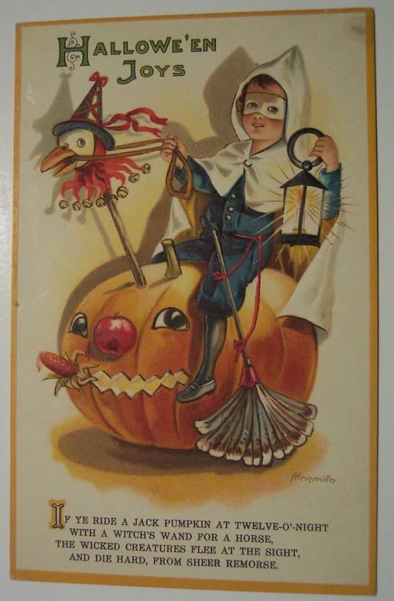 Ilustraciones vintage Halloween 112