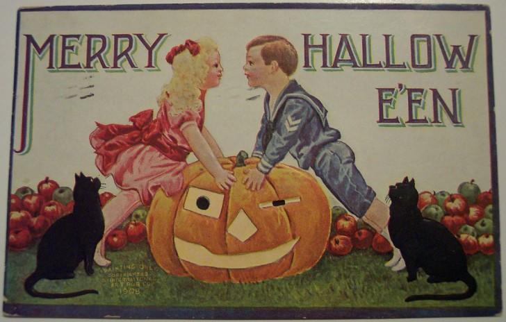Ilustraciones vintage Halloween 114