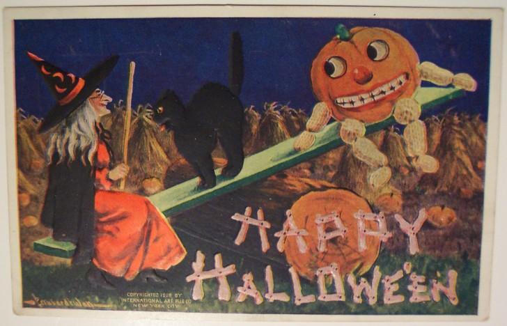 Ilustraciones vintage Halloween 115