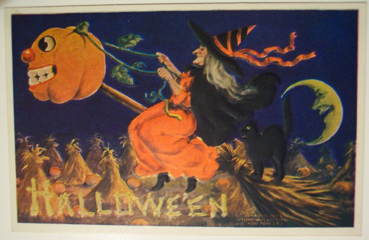Ilustraciones vintage Halloween 116
