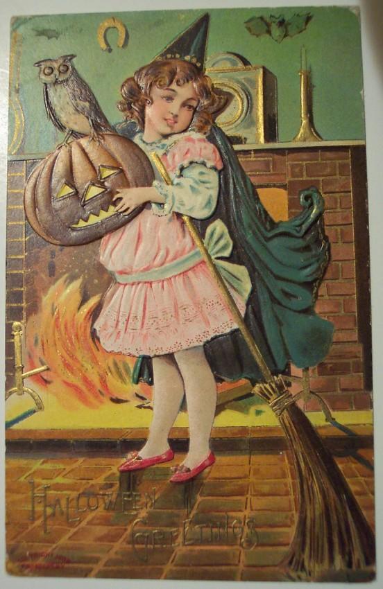 Ilustraciones vintage Halloween 117