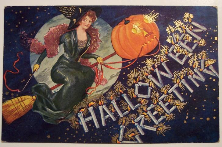 Ilustraciones vintage Halloween 118