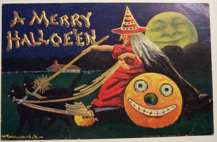 Ilustraciones vintage Halloween 119