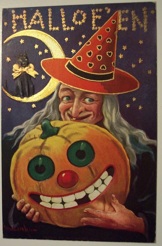 Ilustraciones vintage Halloween 120