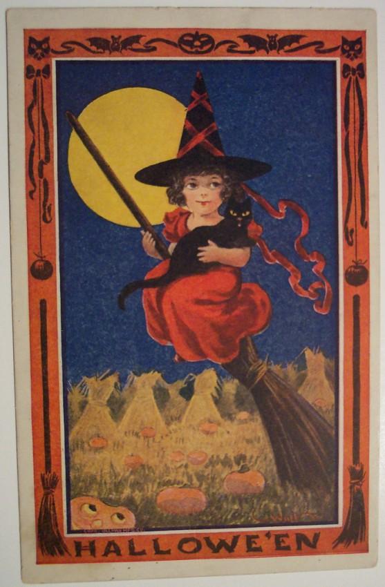 Ilustraciones vintage Halloween 121