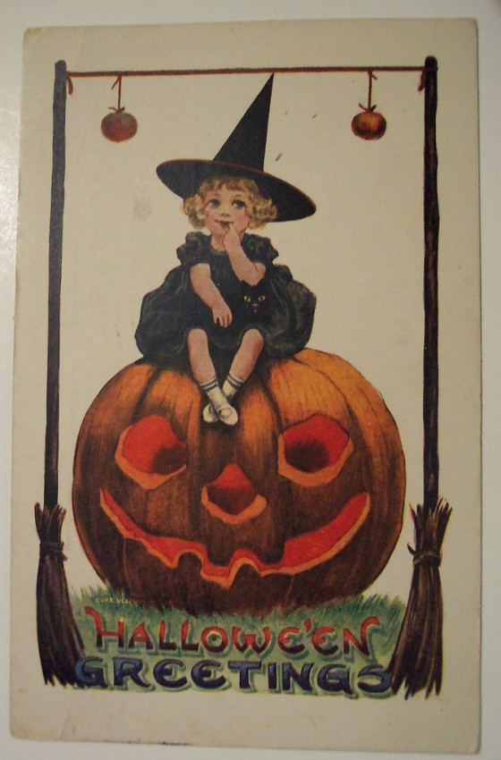 Ilustraciones vintage Halloween 122
