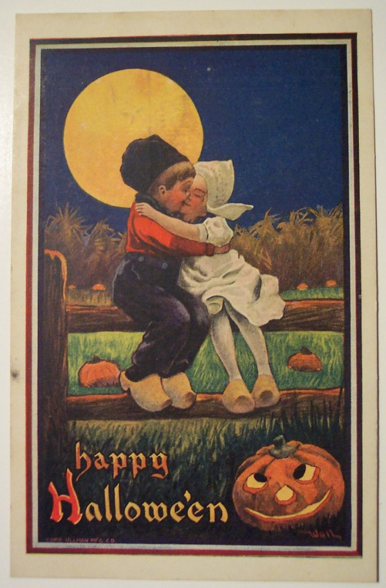 Ilustraciones vintage Halloween 123
