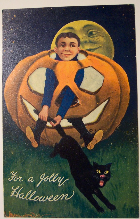 Ilustraciones vintage Halloween 124