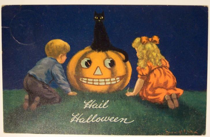 Ilustraciones vintage Halloween 125