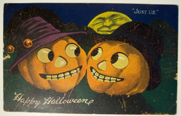 Ilustraciones vintage Halloween 126