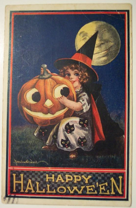 Ilustraciones vintage Halloween 129