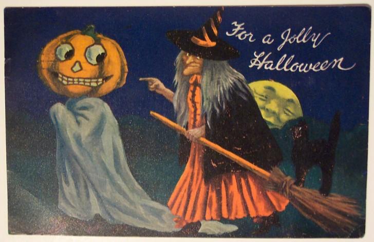 Ilustraciones vintage Halloween 130