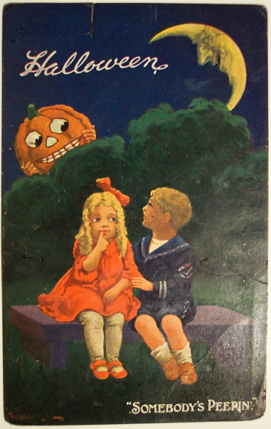 Ilustraciones vintage Halloween 131