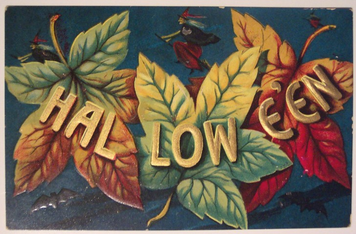 Ilustraciones vintage Halloween 132