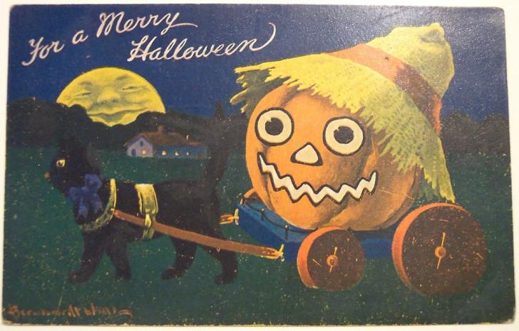 Ilustraciones vintage Halloween 133