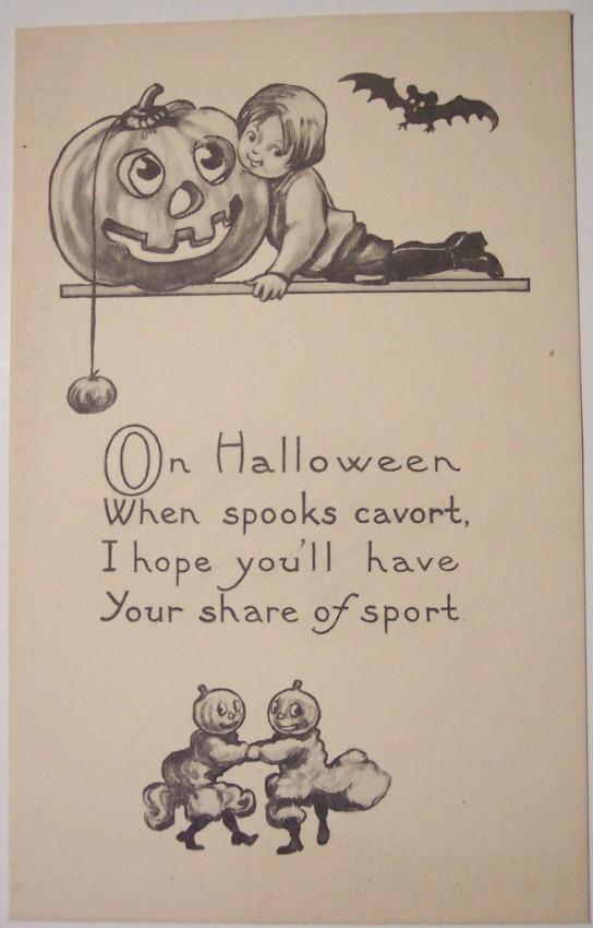 Ilustraciones vintage Halloween 134