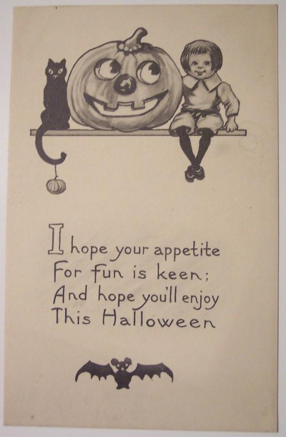 Ilustraciones vintage Halloween 135