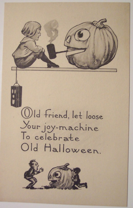 Ilustraciones vintage Halloween 136