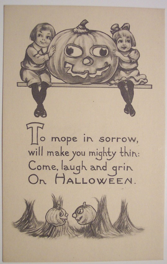 Ilustraciones vintage Halloween 137