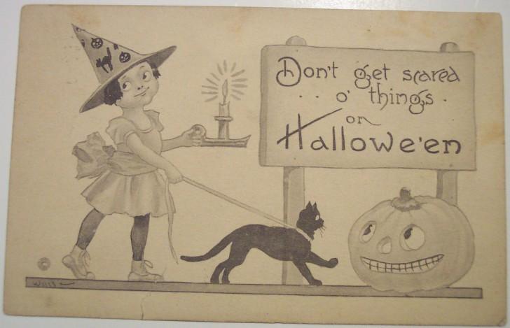 Ilustraciones vintage Halloween 139