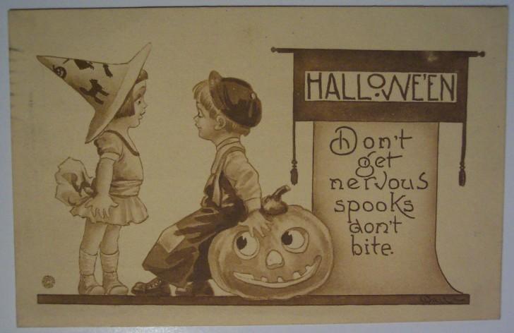 Ilustraciones vintage Halloween 140